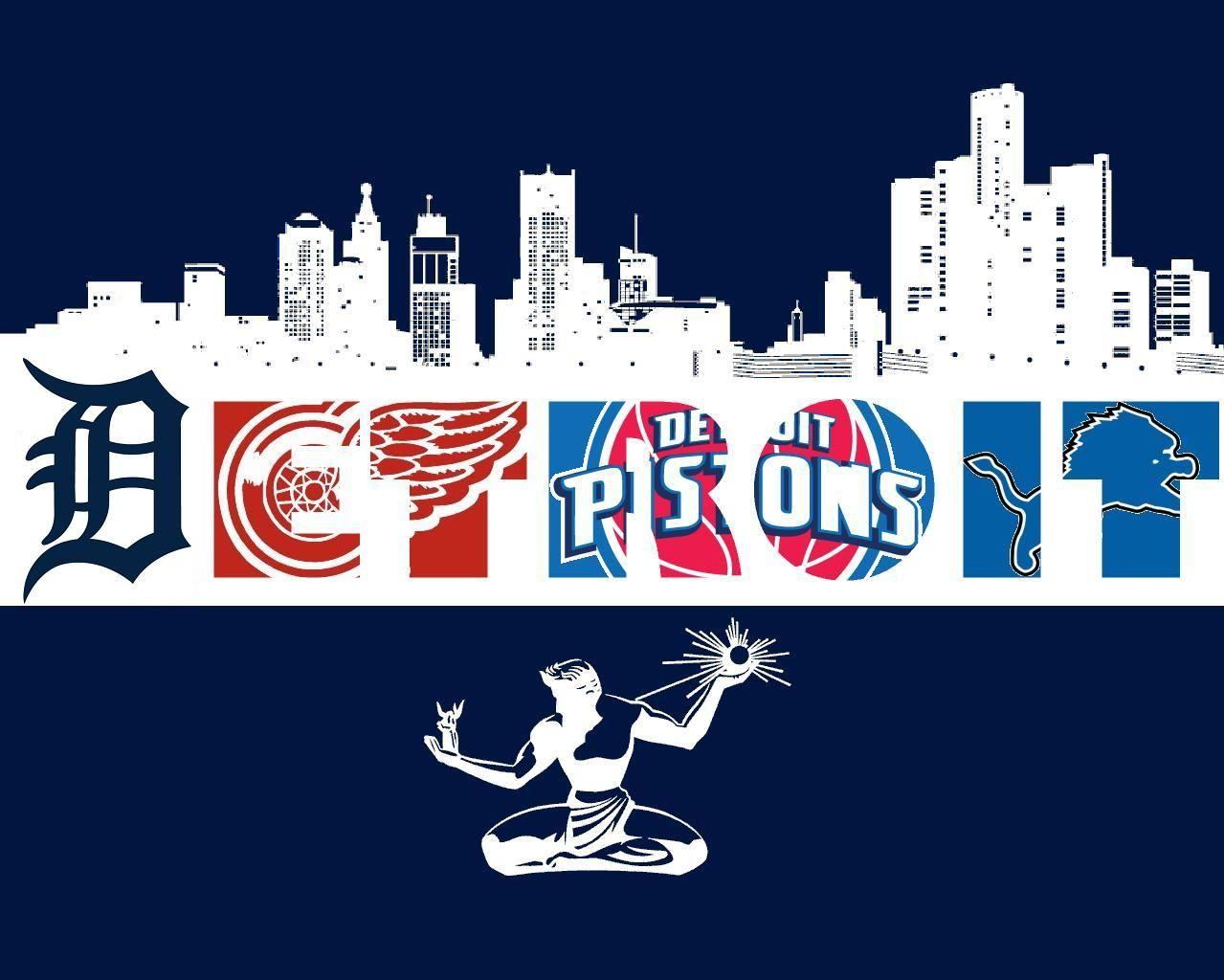 Nothing But Love For Our Detroit Sports Http Www Lansingmarketinggroup Com Detroit Sports Detroit Lions Wallpaper Detroit
