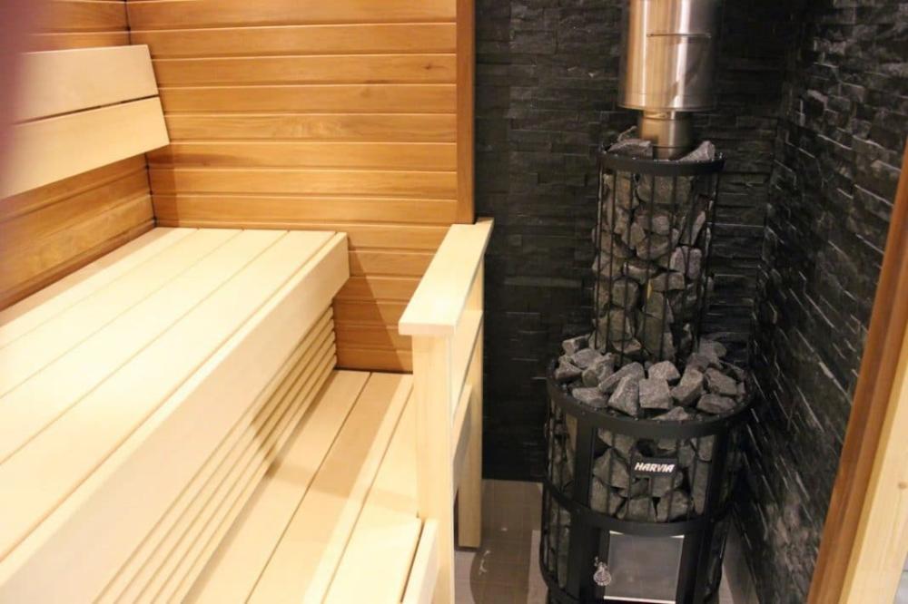 печка в перевозной бане