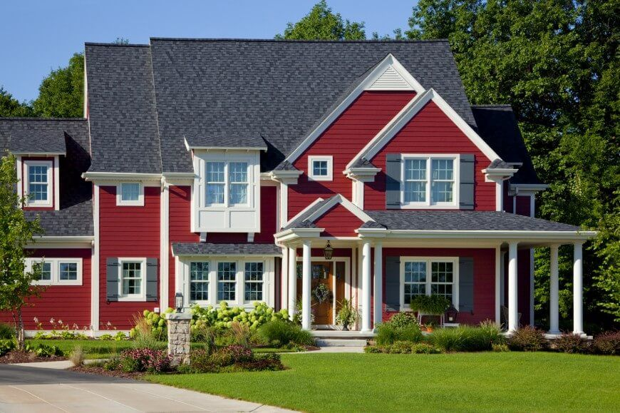 17 Different Types Of House Siding With Photo Examples House Siding House Exterior Siding Colors