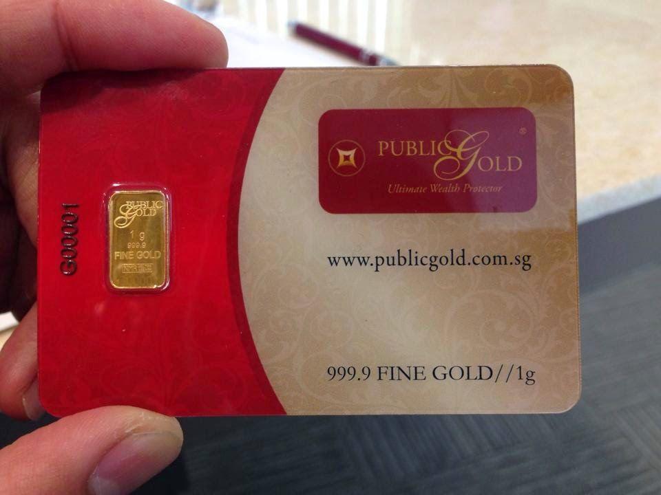 Public Gold Singapore 1 Gram Gold Bar Dealer Public Gold Singapore Pg00063323 Beli Emas Perak Dinar Emas Jongkong Emas Emas 916 Em Gold Public Sms