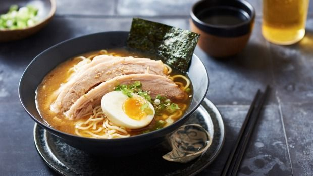 Preparing ramen usually involves boiling bones for many hours to create a rich stock, but this slow cooker version couldn't make the Japanese favourite any easier. There's no need to hang around and watch the stove, as the dish makes itself.