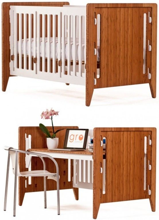 Convertible Multifunctional Piece Of Furniture From Crib To College Click Through For More Pics