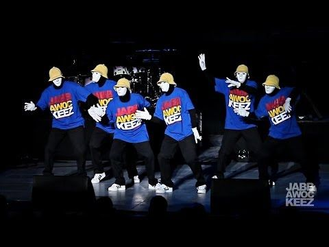 Jabbawockeez at Rebuild Philippines: A Benefit Concert performed