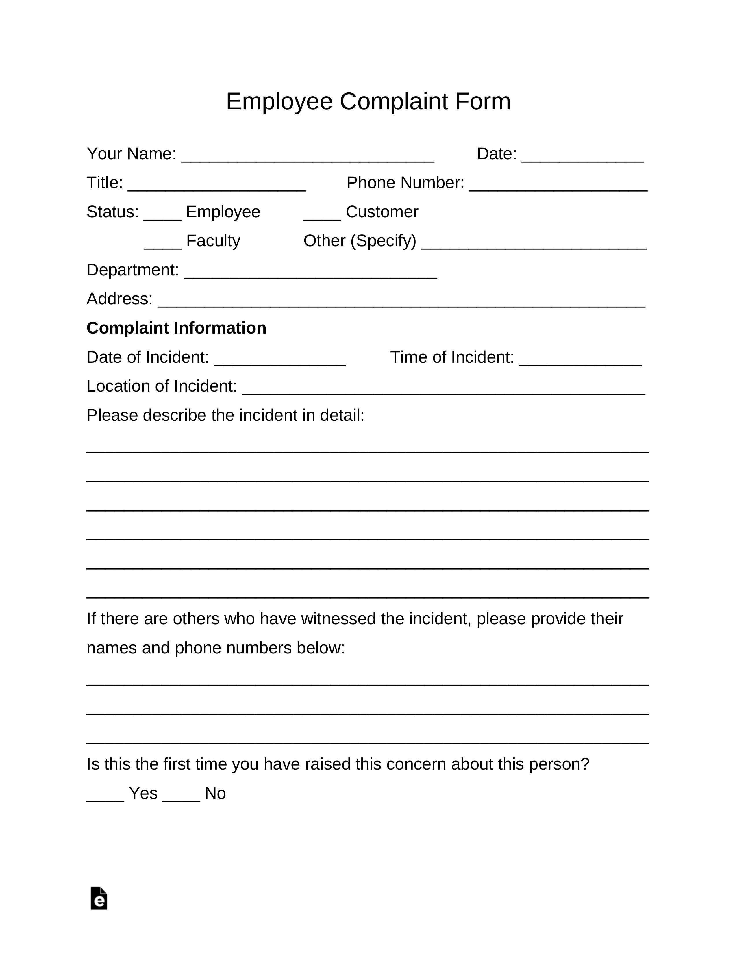 43++ Complaint letter sample format inspirations