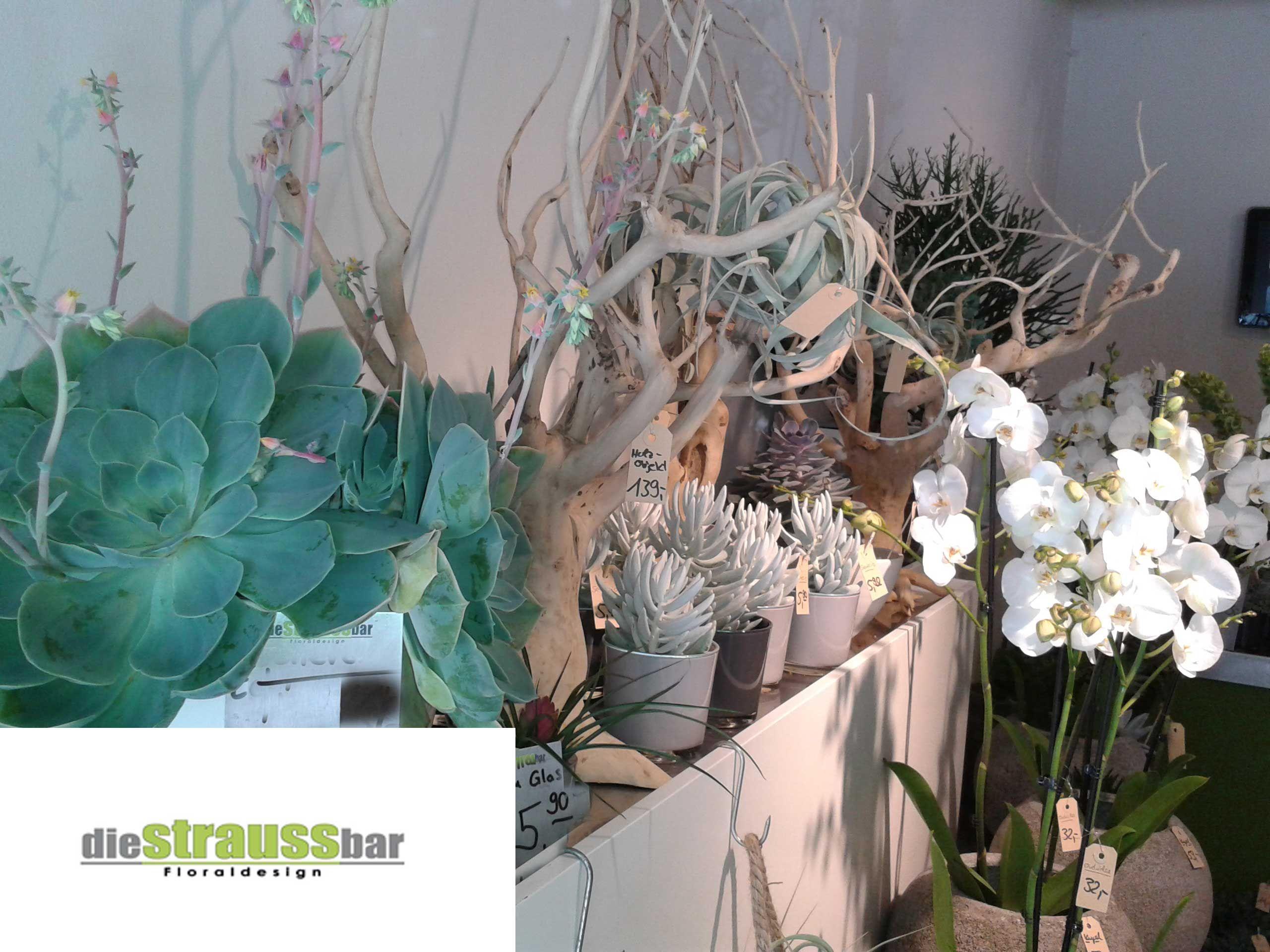 Floristic objects Blumenstrauß, Tischdekoration und Blumen