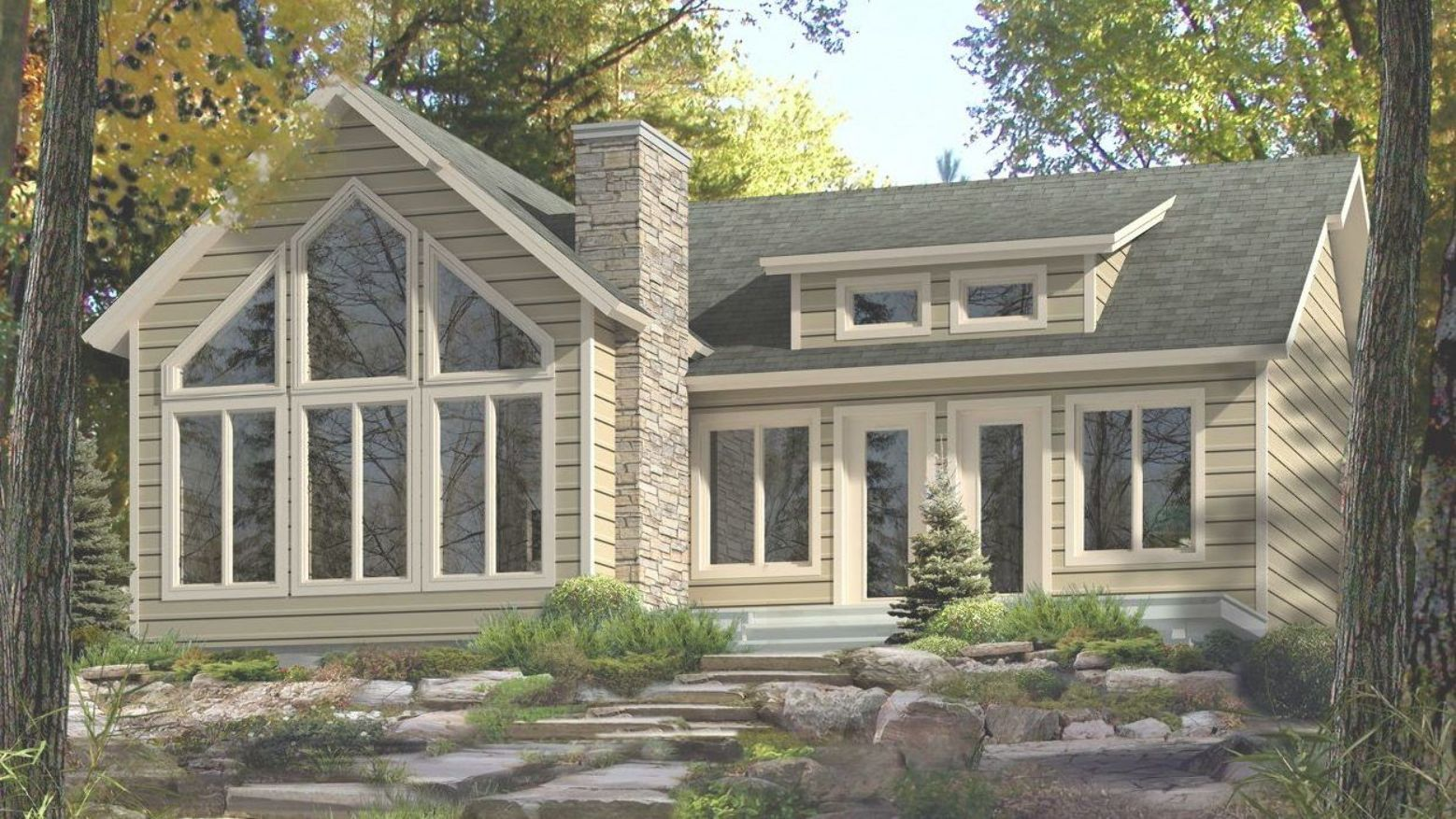 Cottage Plan 2 Bed 36 Wide Kit Home From Home Hardware Click For Floor Plan Add Window To Kitchen And Left Wall O Aspen House Cottage Plan Cottage Homes