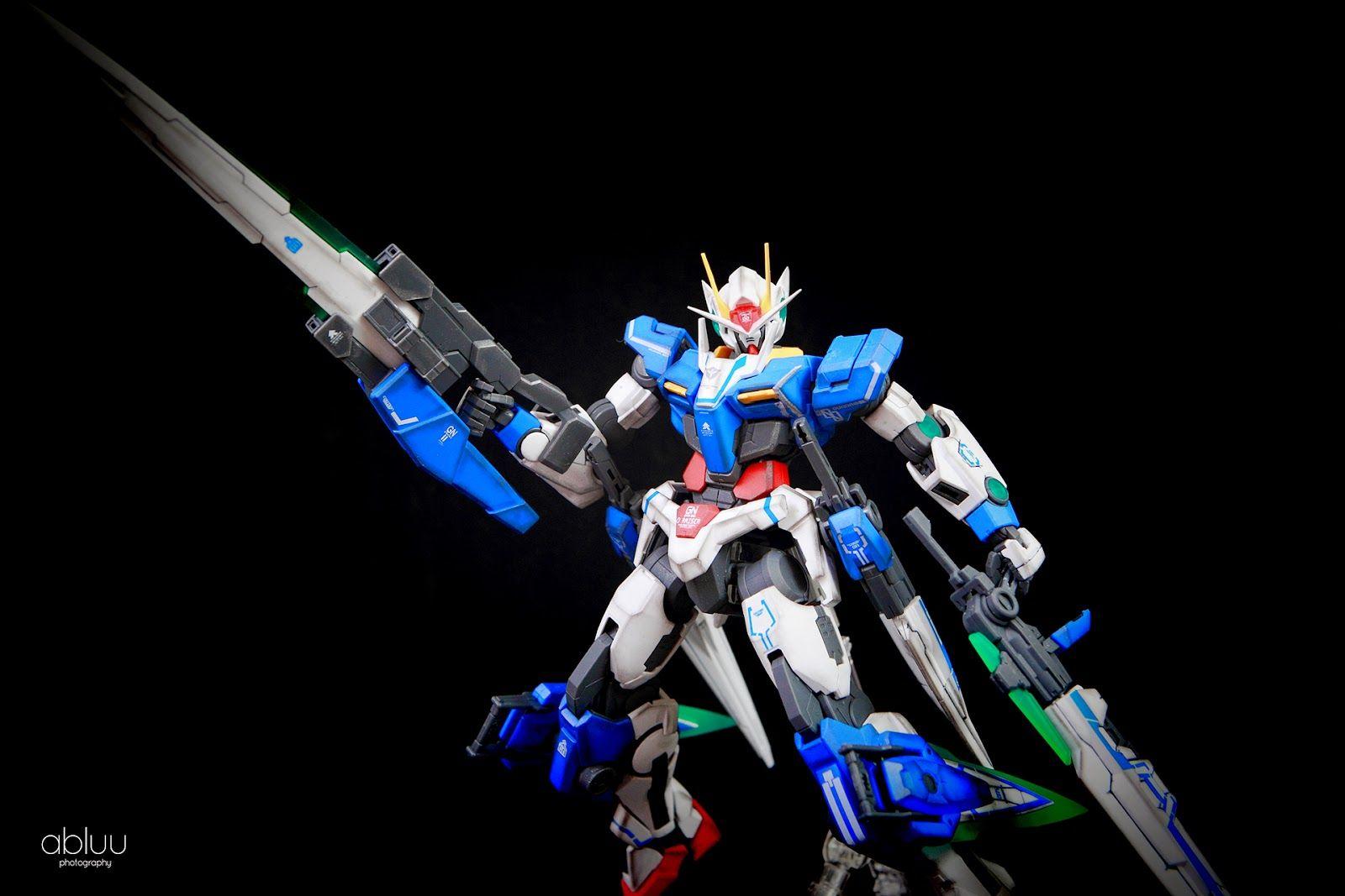 MG 1/100 00 Raiser HWS Custom Build - Gundam Kits Collection News and Reviews