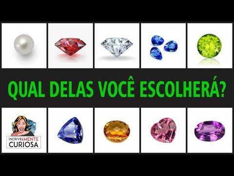 YouTube   minerais ou pedras preciosas   Pinterest 2f318890e914