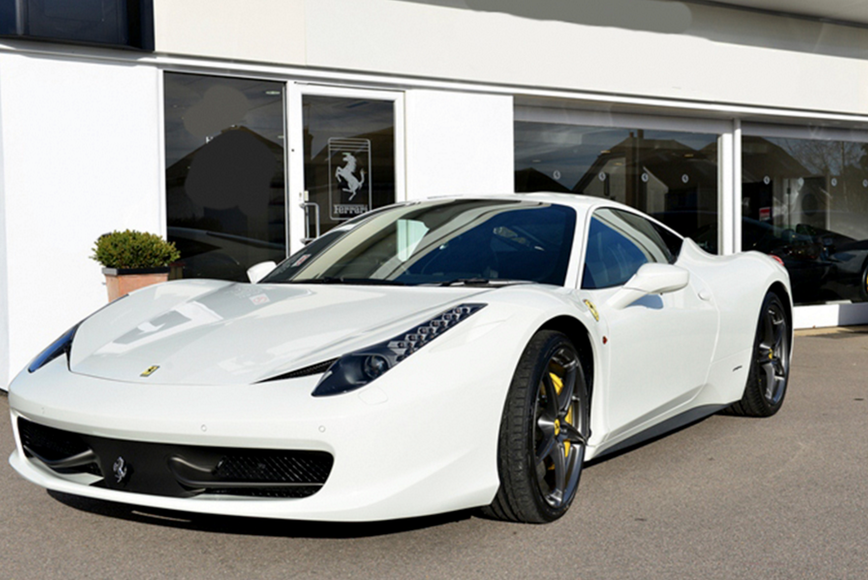 Whats Your Dream Car This White F Italia Is A Midengined - What's a sports car
