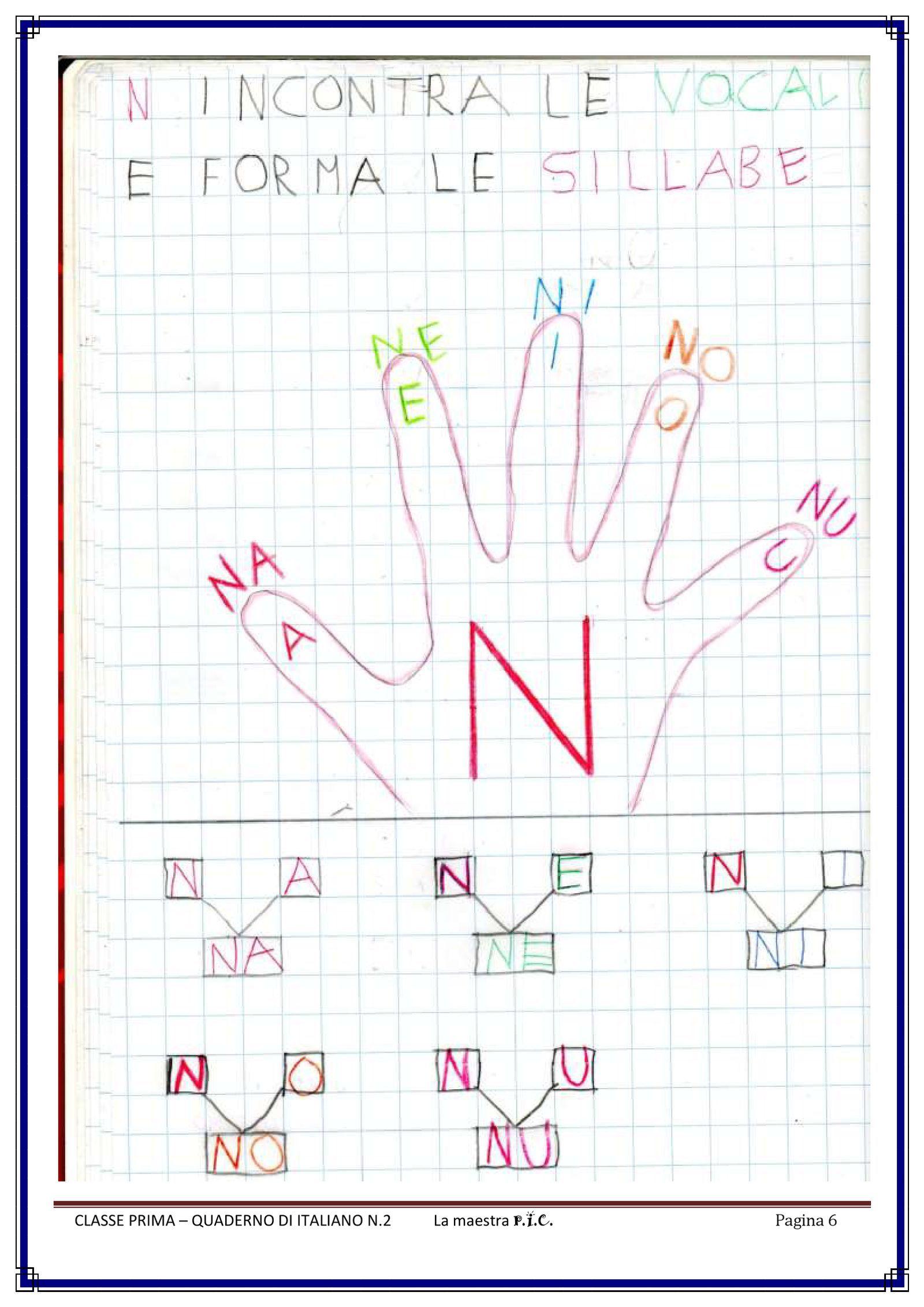 Il Mio Quaderno Di Italiano Pdf To Flipbook Classe Prima Kids
