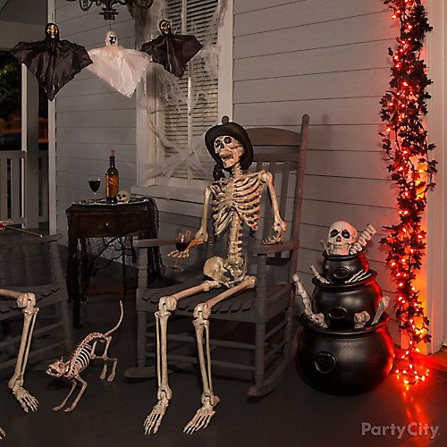 Decorate House For Halloween: Haunted House Entrance Ideas