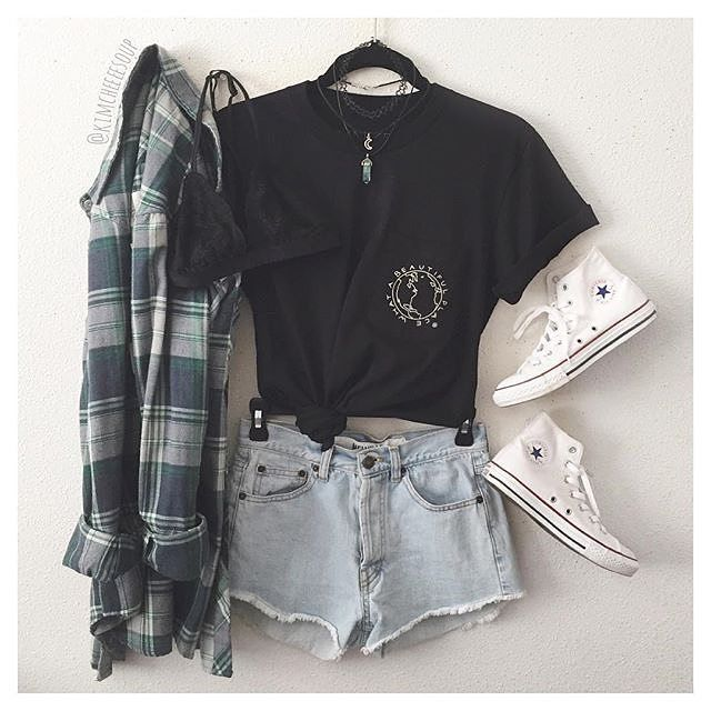 hannahhopex grunge outfits pinterest outfit ideen. Black Bedroom Furniture Sets. Home Design Ideas