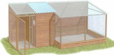 Plans d une voliere exterieure animaux pinterest for Construire une cage a lapin exterieur