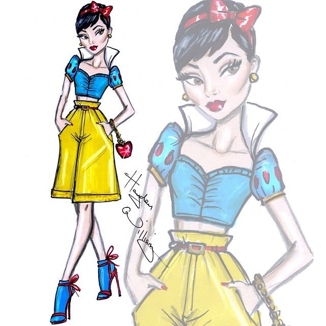 Snow White: Disney Diva Fashionistas by Hayden Williams @hayden_williams Instagram photos | Websta (Webstagram)