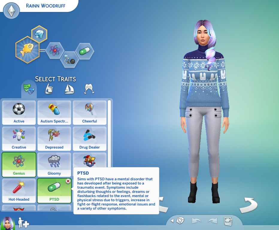 Mod The Sims - PTSD Trait v1 2 (Cats and Dogs Compatible