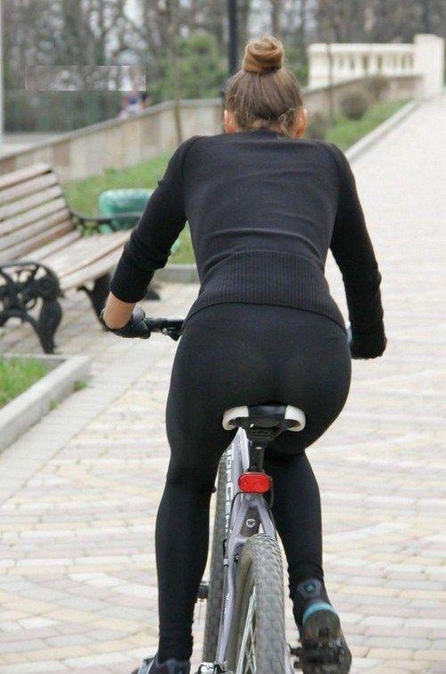 Black leggings sports candid - 2 part 8