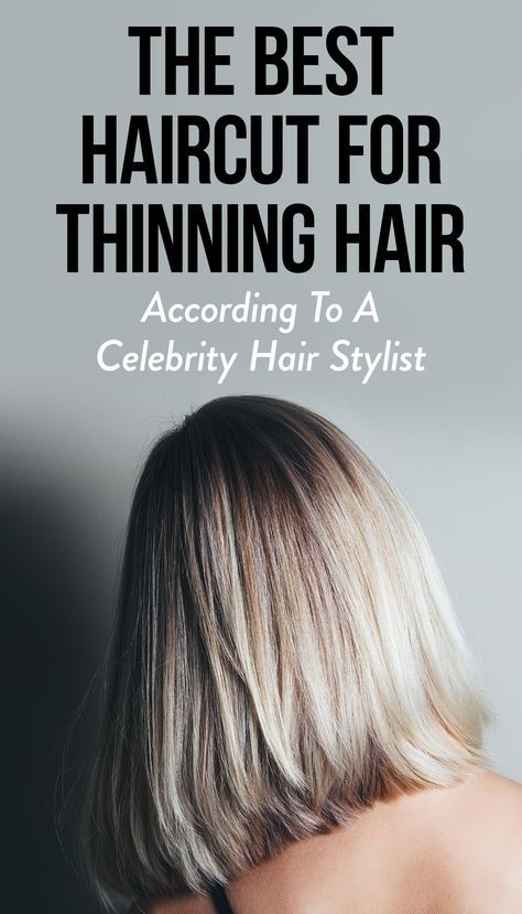 This Is The Best Haircut For Thinning Hair, Accord