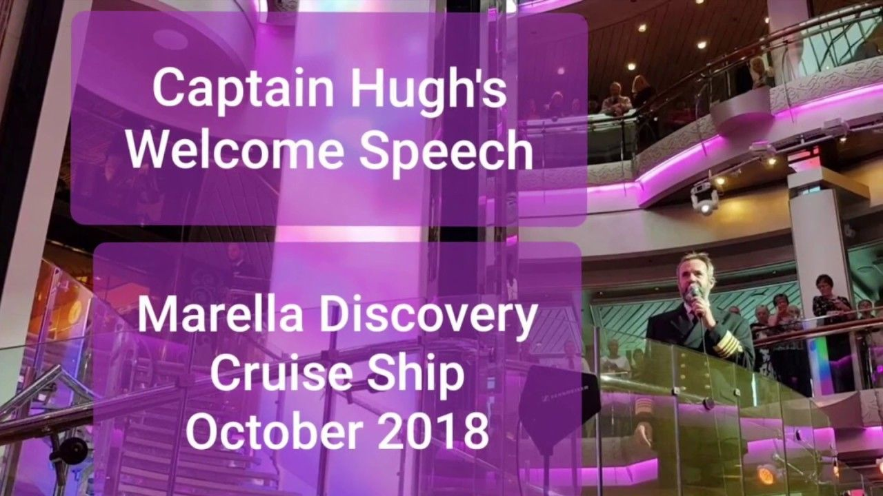 On our cruise on the Marella Discovery Cruise Ship, Captain
