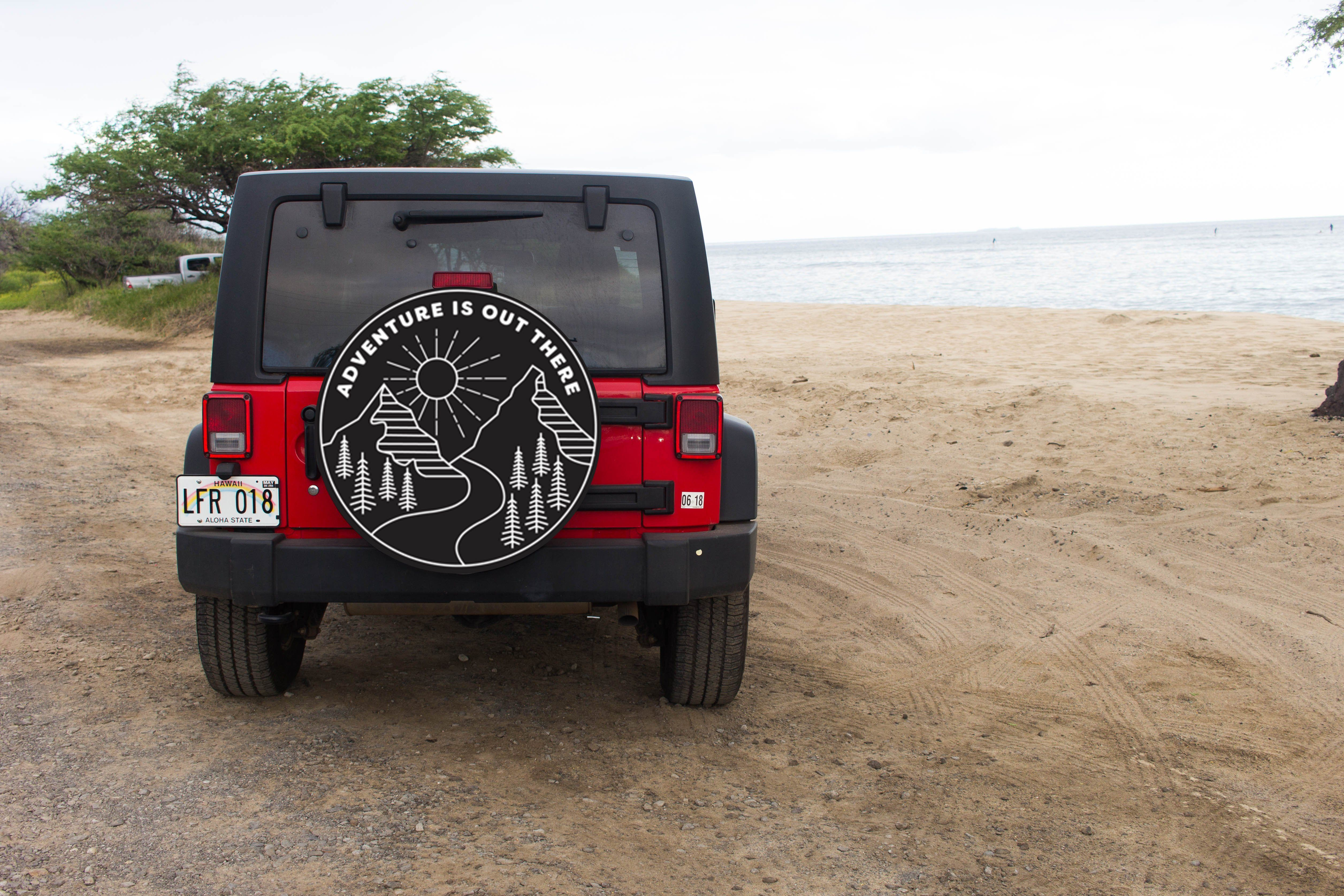 Adventure Is Out There Tire Cover Jeep Tire Cover Tire Cover Jeep