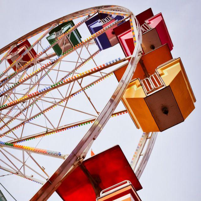 Mn State Fair Ferris Wheel Photography Ferris Wheel