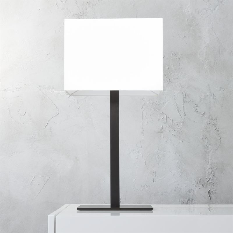 CB2 John Table Lamp