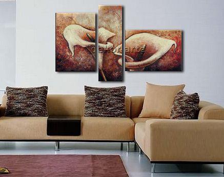 Cuadros para salas mod alcatraces i cuadros pinterest - Cuadros murales para pared ...