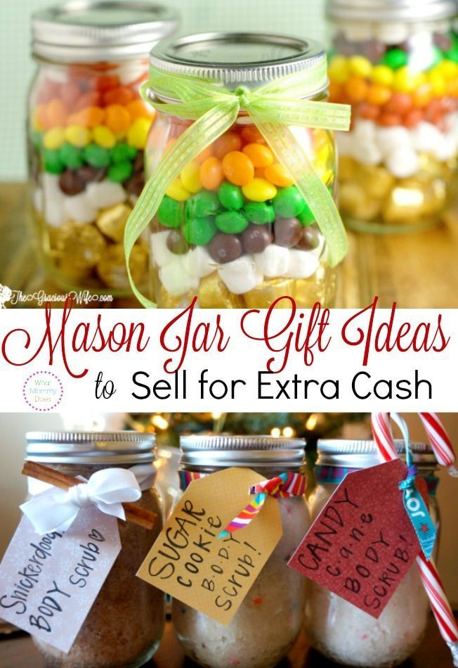 30 Ways To Make Your Home Pinterest Perfect: 13 Mason Jar Crafts To Make & Sell For Extra Cash