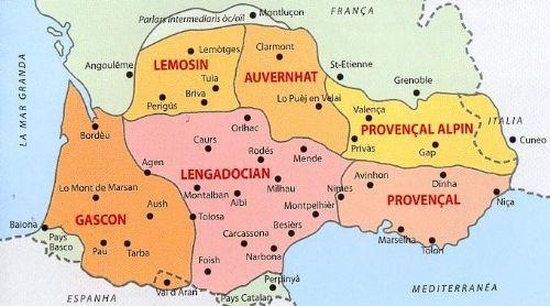 Occitania Carte Geographique Cartes Geographie
