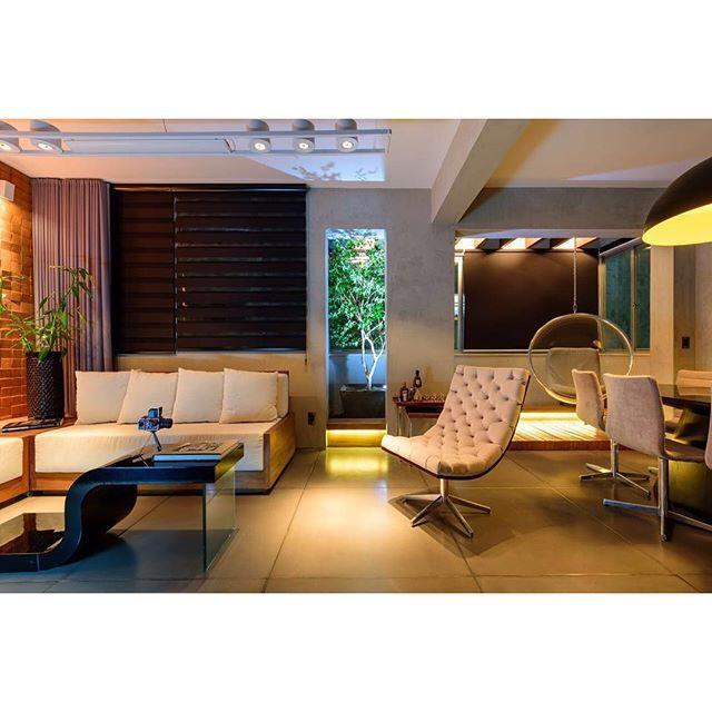 Boa Noite a todos! Apartamento A.G. #hugosasdelliarquitetura Good Night for all - A.G Apartment - Brazil