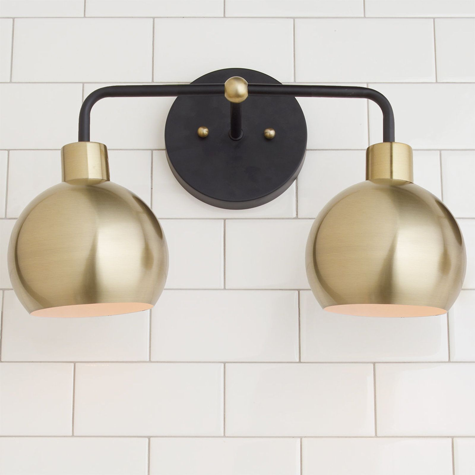 of with light shades brushed bubble young vanity bronze brass love house products