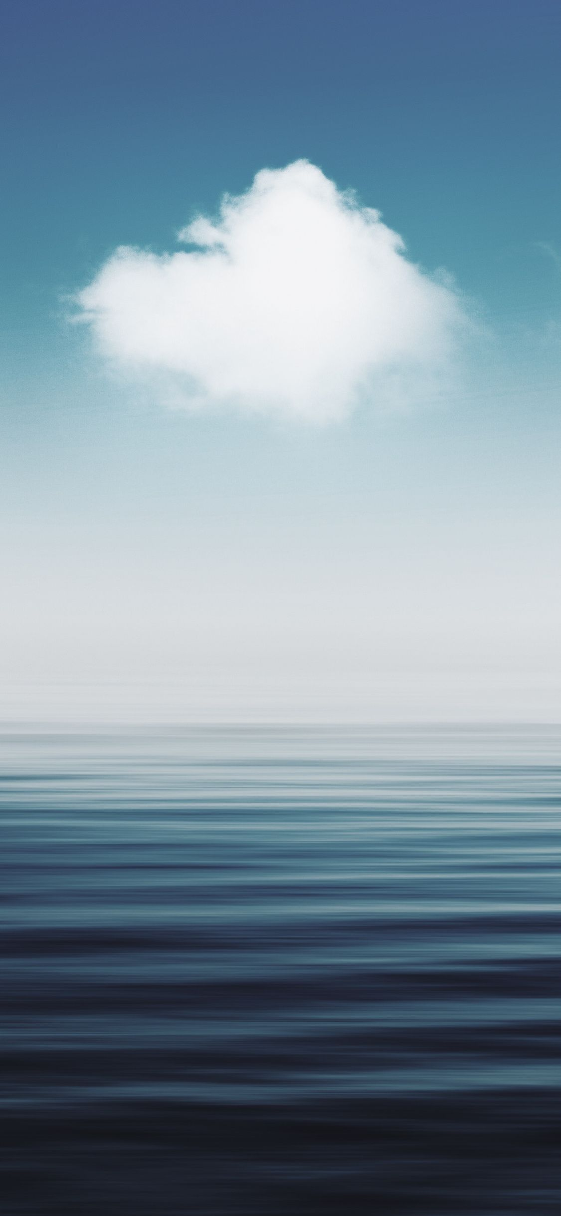1125x2436 Seascape Blur Sea And Sky Nature Wallpaper Cool Landscapes Nature Wallpaper Sky