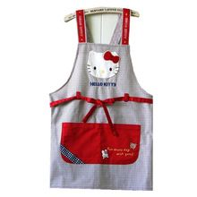 SANRIO LITTLE TWIN STARS EMBROIDERY DENIM APRON