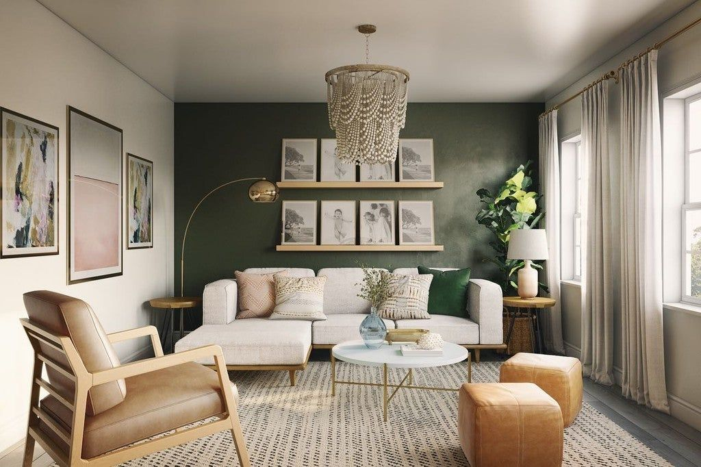 Silicus Light Gray Round Coffee Table In 2021 Green Living Room Decor Sage Green Living Room Green Walls Living Room