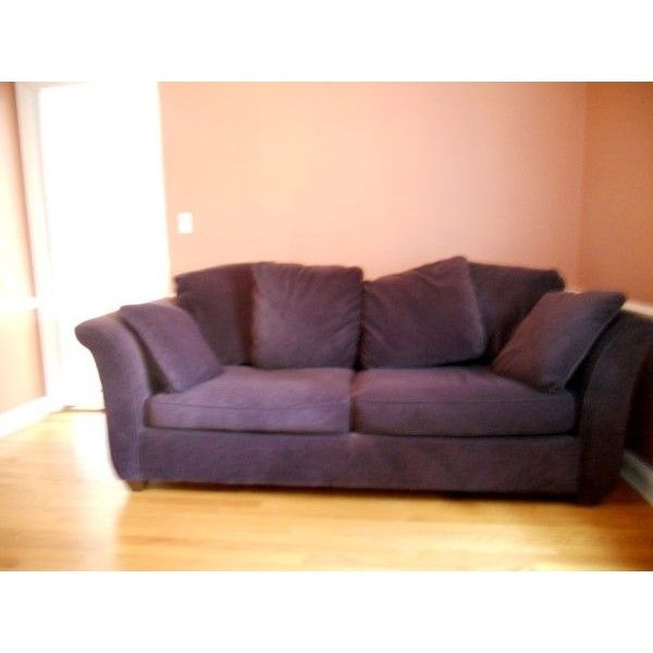 Macys Purple Queen Size Sleeper Sofa and Oversized Chair liked
