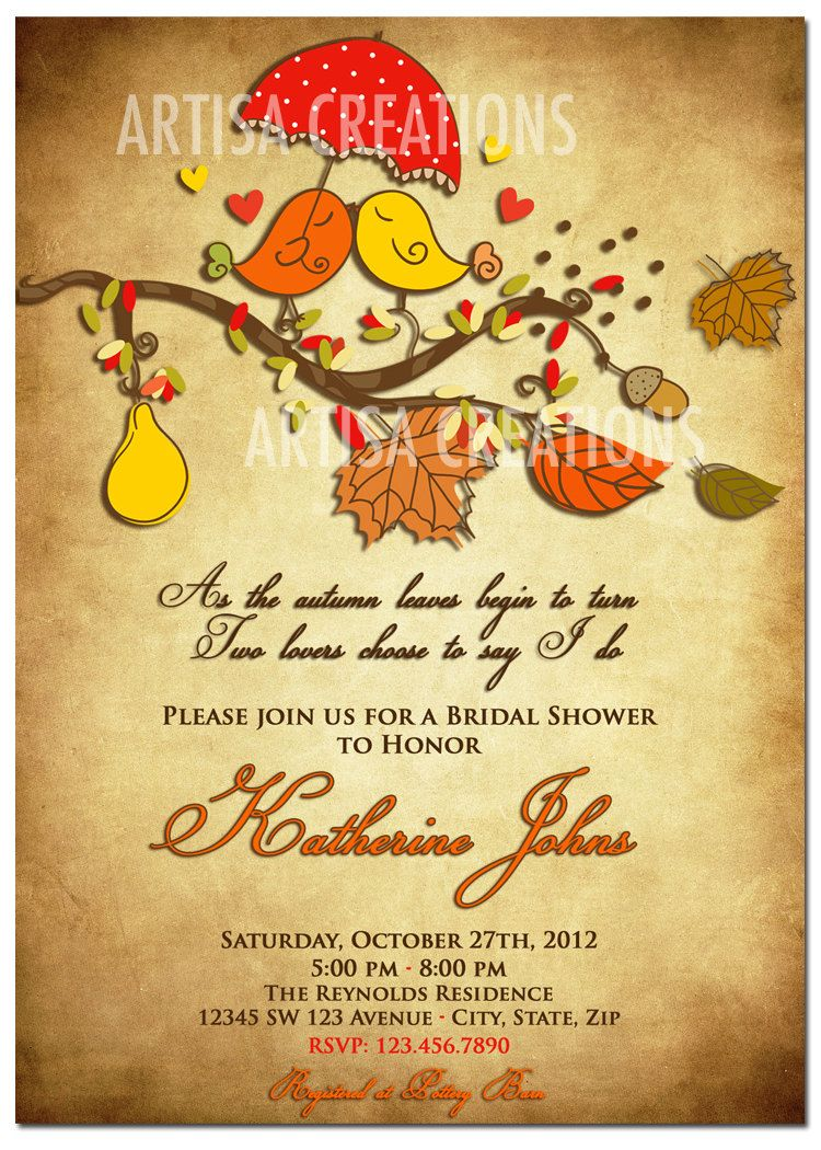 love bird wedding shower invitations - Google Search | Papercrafts ...