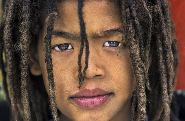 Noel, a Rastafarian boy in Knysna Township, South Africa.
