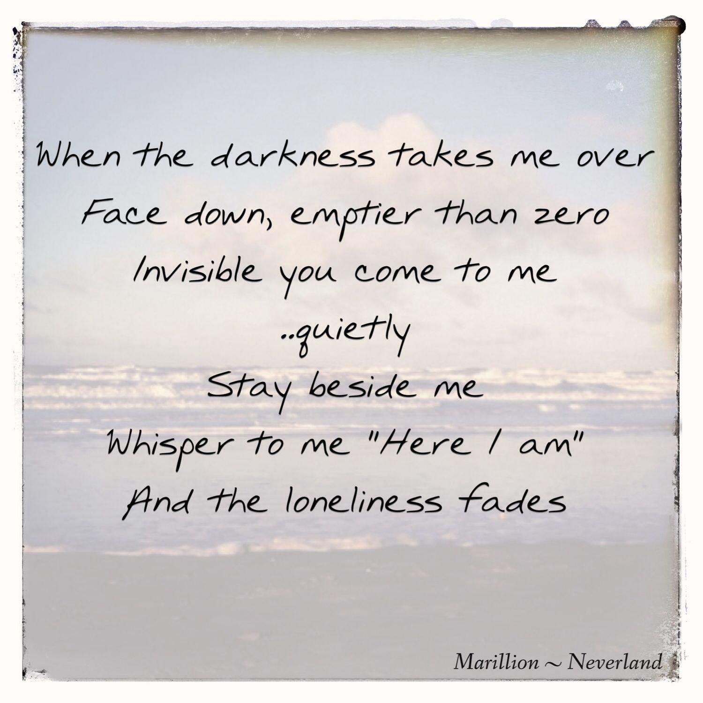 Marillion Neverland Favorite Lyrics Music Lyrics Take Me Over