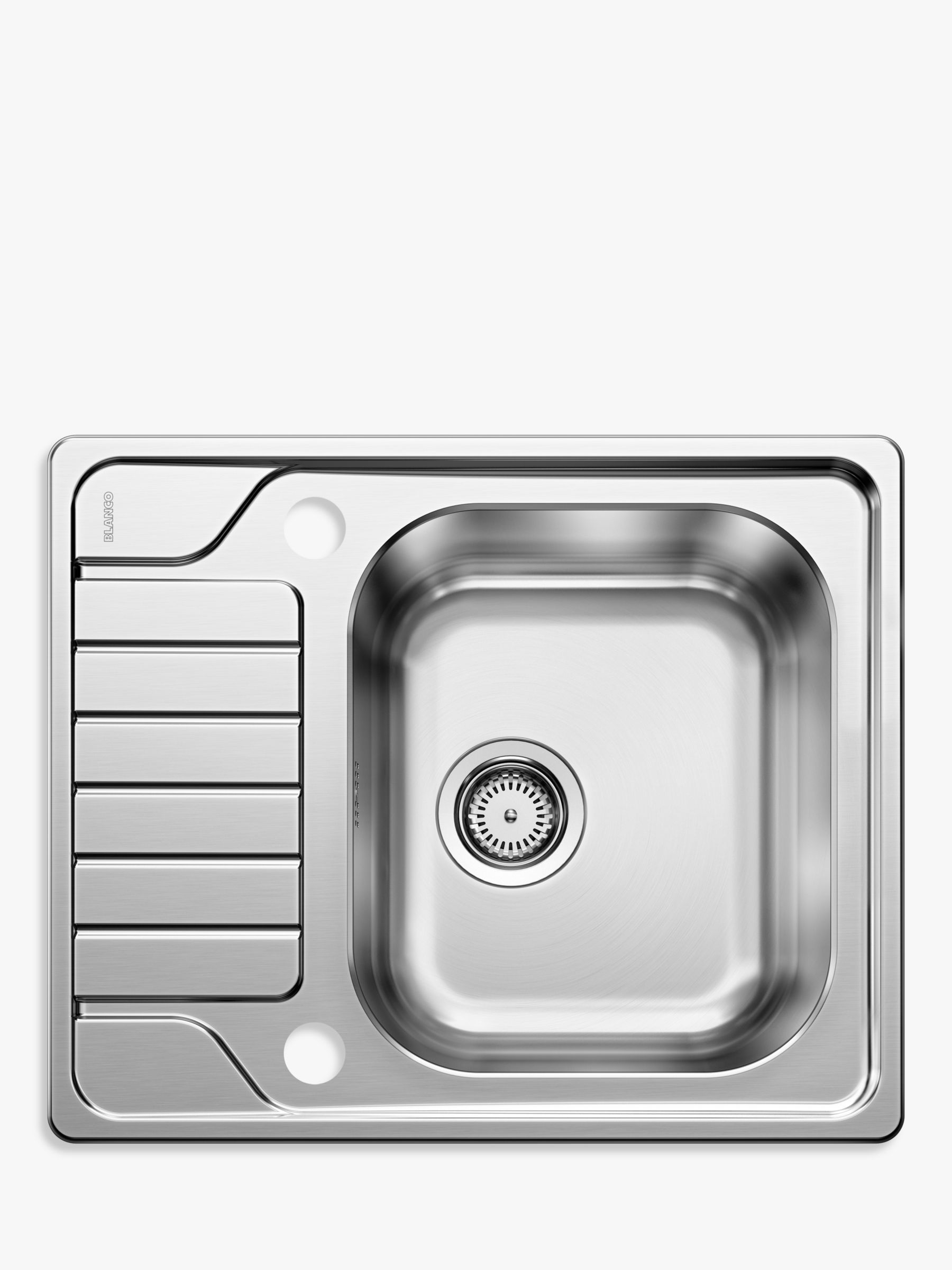 Blanco Dinas 45s Single Bowl Inset Kitchen Sink Stainless Steel