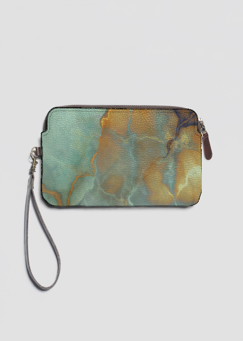 VIDA Leather Statement Clutch - Twisted Vines Clutch by VIDA YB4bKTEZ
