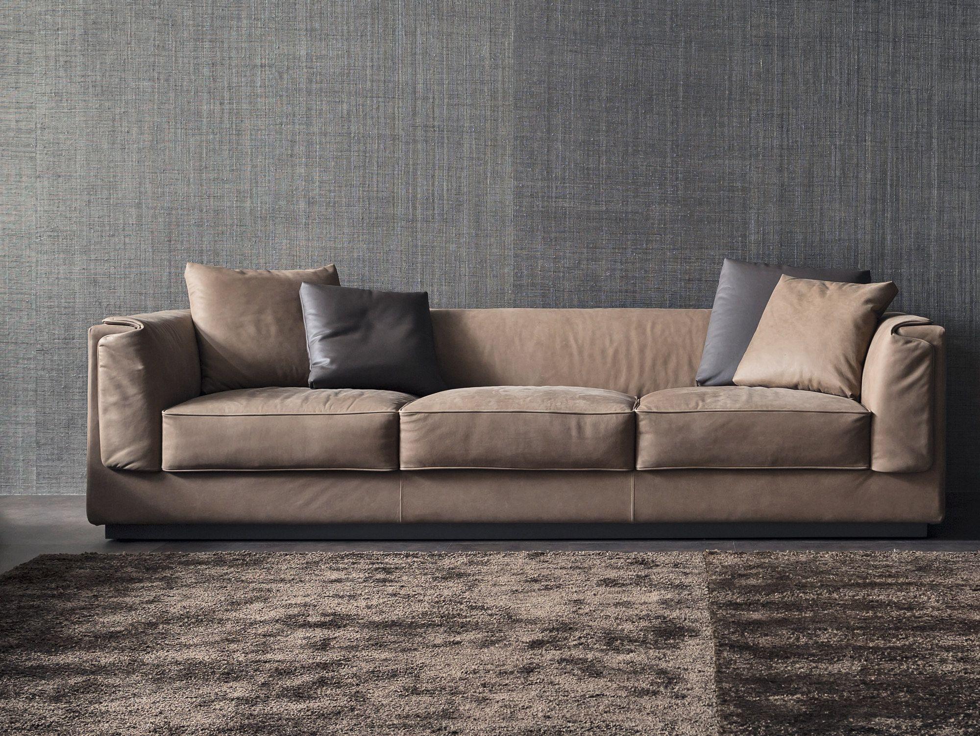 divano imbottito divano a 3 posti collezione gentleman by flou rh pinterest com au