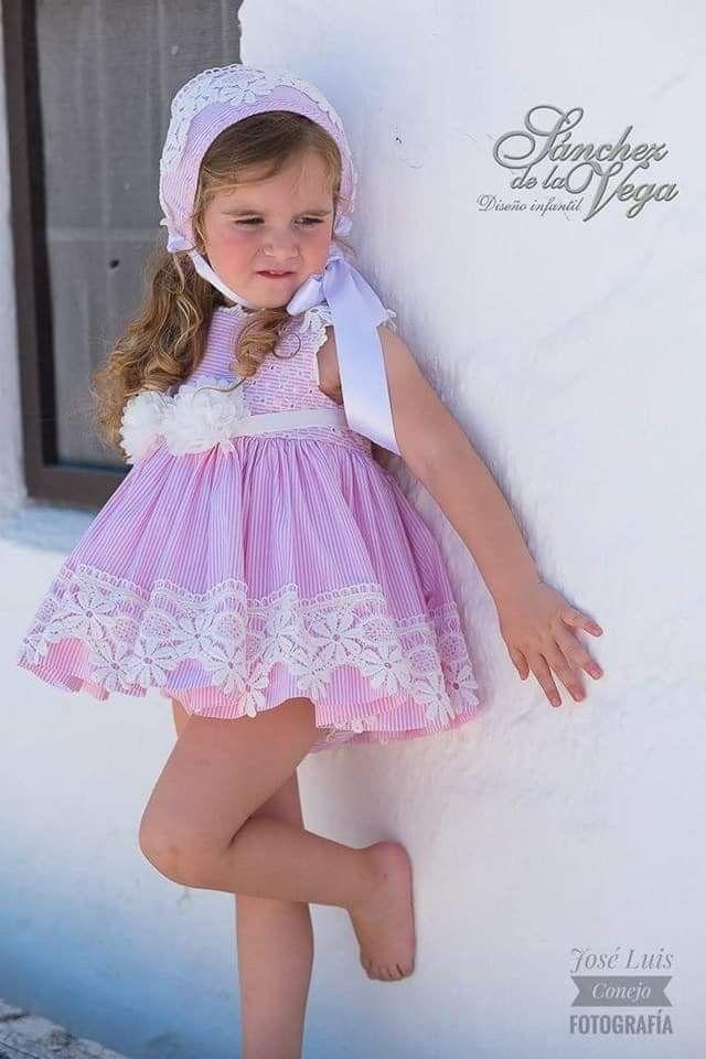 Pin de Amparo Exposito en Moda infantil   Pinterest   Vestidos niña ...