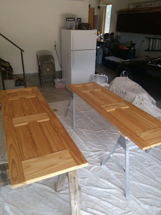 Staining Interior Doors Minwax Pre Stain Wood Conditioner Applied For More  Uniform Appearance
