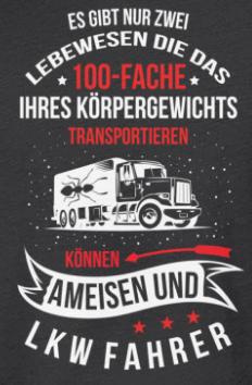 Lkw Fahrer Und Ameisen Transportieren Lkw Fahrer Lkw Fahrer