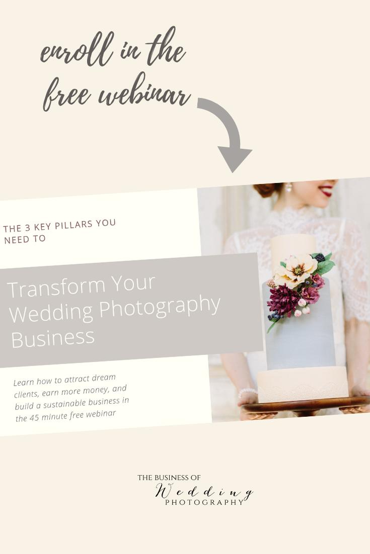 Wedding Photographer Free Webinar Enroll Now Wedding Photography Business Free Webinar Photography Business