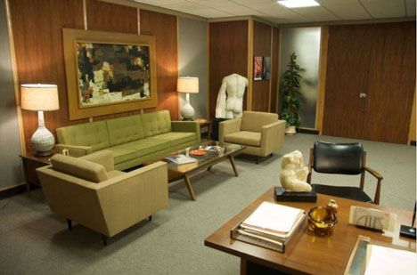 interiors - Mad Men Sofa