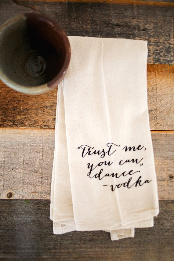 Captivating Tea Towel   Hand Printed Organic Flour Sack    Pictures