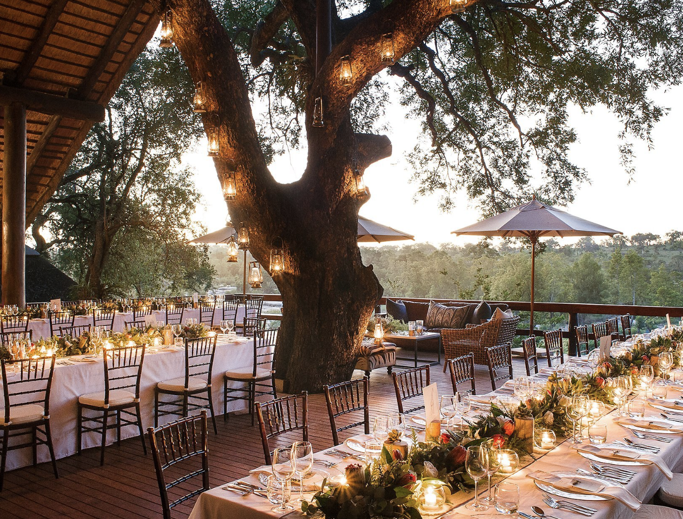 wedding decoration ideas south africa%0A Kyly Zakheim and Ryan Rabin Marry in a Magical Safari Wedding in South  Africa