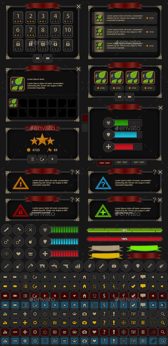 Pin By Bashooka Web Graphic Design On High Quality Game Assets Game Interface Pixel Art