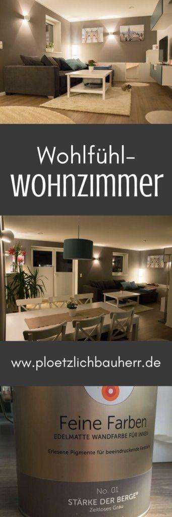 Wohnzimmer streichen - Nach zwei Jahren Lust auf was neues Wand - wohnzimmer streichen grau ideen