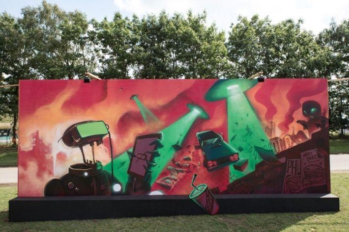 Bombing Science: Graffiti Blog - Roskilde 2016